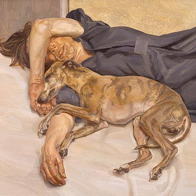 Doble retrato (1985-1986), de Lucian Freud.