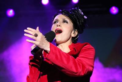 La cantante gallega Luz Casal.