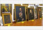 Recuperados siete cuadros de Madrazo y Méndez robados en junio en El Escorial