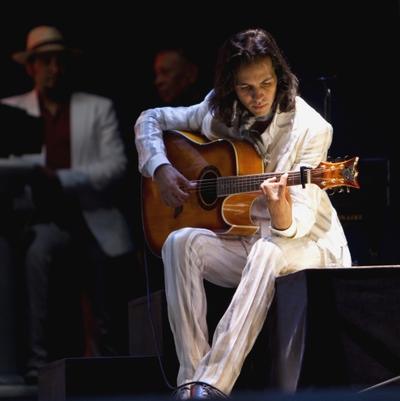El músico sevillano Juan Manuel Fernández Montoya, Farruquito.