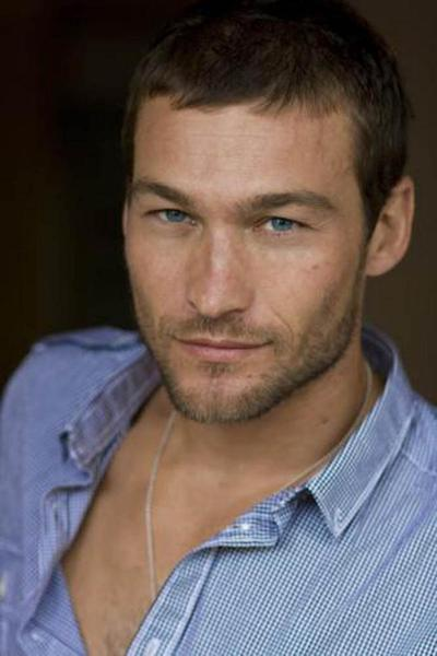 El actor Andy Whitfield.