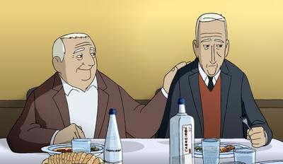 Un fotograma de la película de animación 'Arrugas', de Ignacio Ferreras.