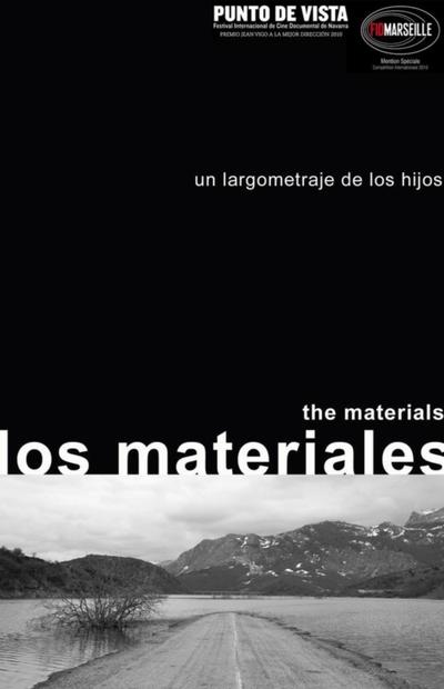 Cartel de la película 'Los materiales', del colectivo Los Hijos.