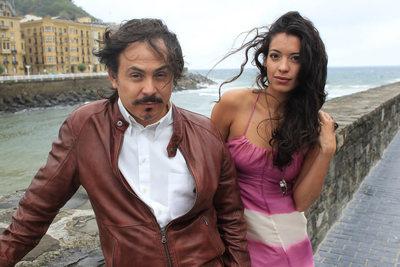 El director de 'Miss Bala', Gerardo Naranjo, (izquierda) y la actriz Stephanie Sigman (derecha)derecha