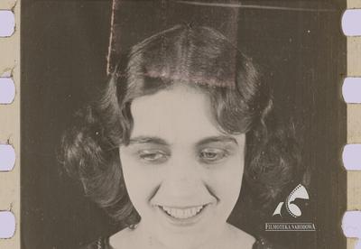 Un fotograma de la película 'Mania', protagonizada por Pola Negri y restaurada por la Filmoteca Narodowa de Polonia.