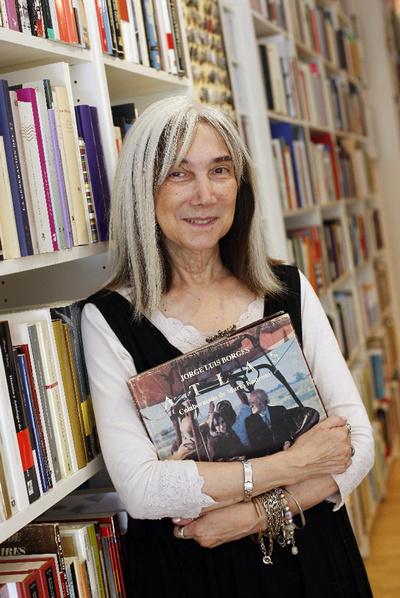 María Kodama, viuda de Borges, en una imagen del pasado enero.