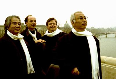 Los integrantes del Cuarteto Tokio.