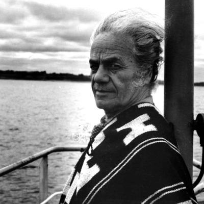 El escritor chileno Nicanor Parra