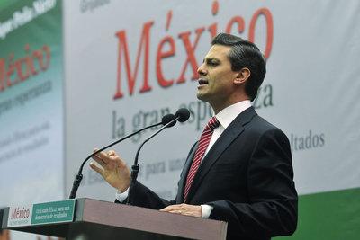 El político mexicano Enrique Peña Nieto