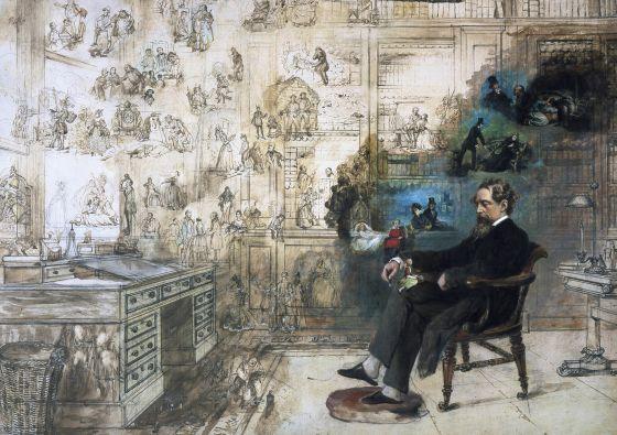 Dickens y sus fantasmas