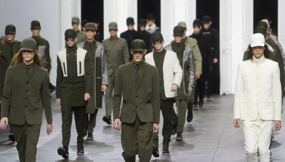 Desfile de Dior en la semana de la moda masculina de París.