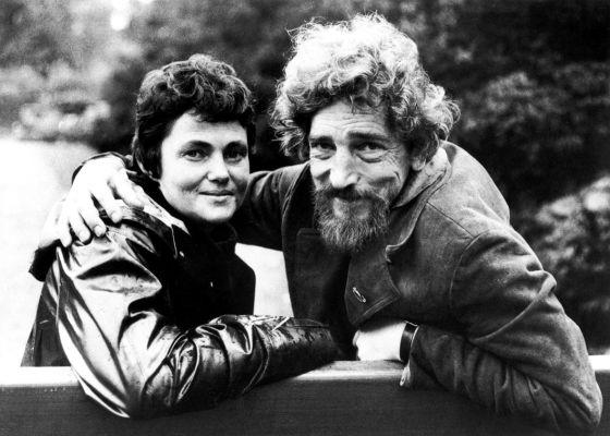 La escritora sueca Maj Sjöwall, junto a su marido, el también escritor Per Wahlöö, en una imagen de los años sesenta.