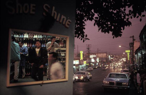 Imagen de la ciudad de Tijuana, México, tomada en 1991.