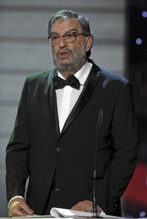 Enrique González Macho, durante la Gala de los XXVI Premios Goya.