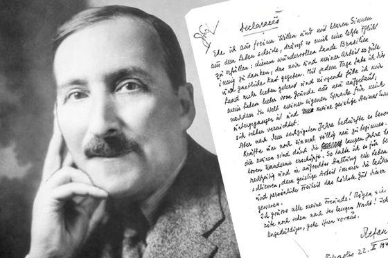 Stefan Zweig y su 'declaración' de despedida