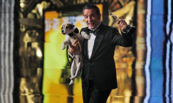 Jean Dujardin, Oscar al mejor actor por 'The artist'.