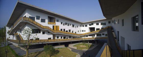 El campus Xiangshan de la Academia de Arte de China en la ciudad de Hangzhou.