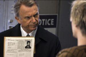 Sam Neill, en una escena de 'Alcatraz'