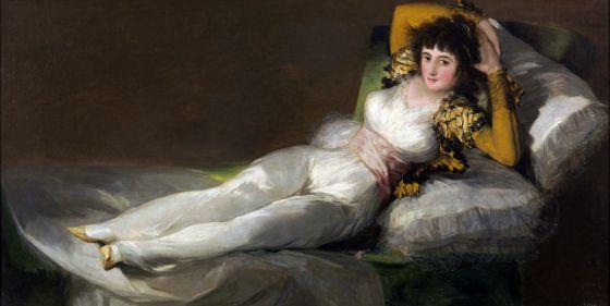 'La maja vestida', de Goya, que se expondrá en el Caixaforum barcelonés