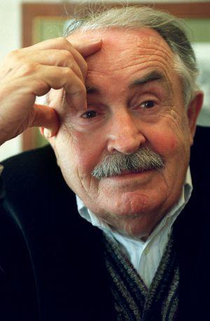 El escritor, poeta y guionista italiano Tonino Guerra