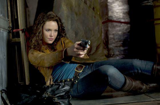 Katherine Heigl en 'La cazarrecompensas'