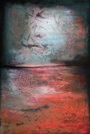 'The Sky was pink', obra basada en la canción homónima de Nathan Fake.