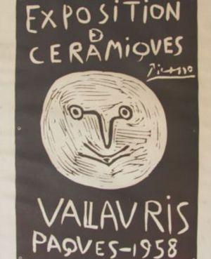 Cartel de Picasso adquirido por 10 euros.