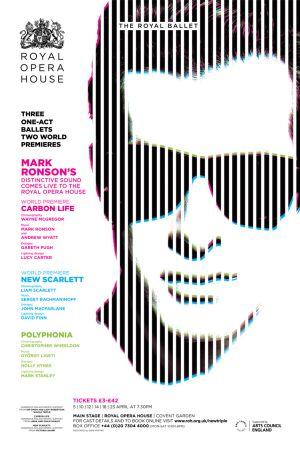 El póster promocional del espectáculo 'Carbon life'