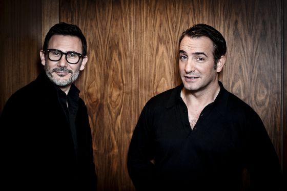 Michel Hazanavicius y Jean Dujardin, que repiten en 'Los infieles' tras el éxito de 'The artist'.