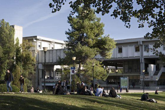 El campus de la UAB, Universidad Autónoma de Barcelona.