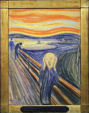 'El grito' de Evard Munch.