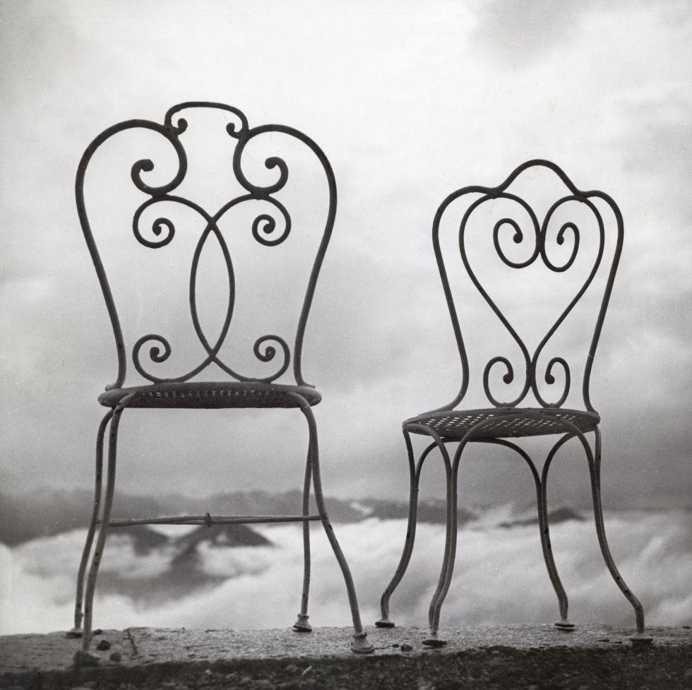Blanco sobre negro. Rigi Kuhlm, Suiza, 1937. Gelatina de plata tiraje de época