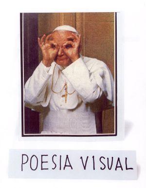 Pieza de la serie 'Poesía visual'