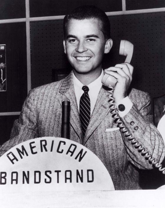 Dick Clark en su programa 'American Bandstand'.