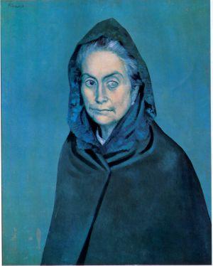 'Celestina' (Carlota Valdivia), óleo de Pablo Picasso en 1903.