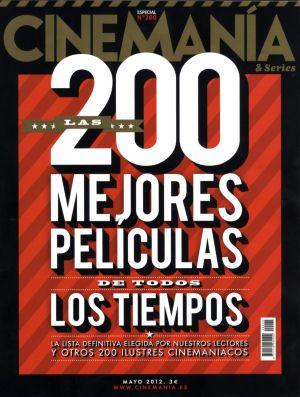 Las 200 mejores películas para el número 200 de 'Cinemanía'