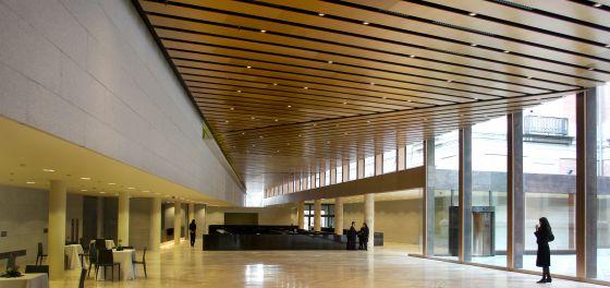 Interior de la ampliación del Museo del Prado en 2007