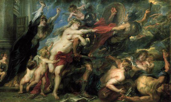 'Los desastres de la guerra', de Pedro Pablo Rubens.
