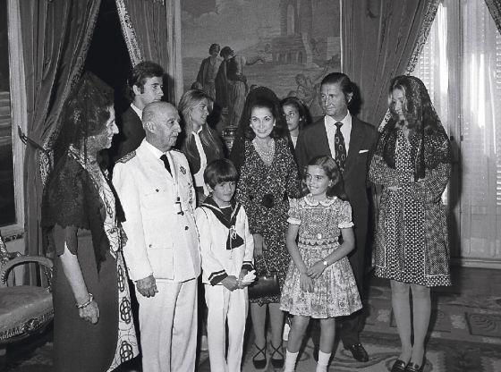 La familia Franco
