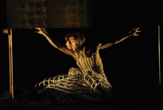 La bailarina Sylvie Guillem.