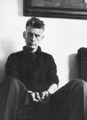 El escritor y dramaturgo, Samuel Beckett.