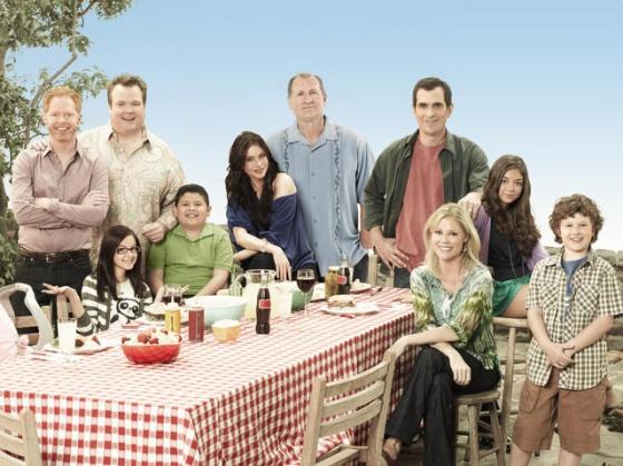 Los protagonistas de la comedia 'Modern Family'