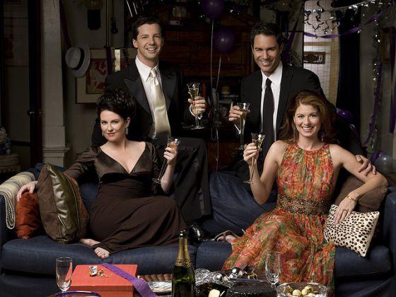 Los protagonistas de 'Will & Grace'