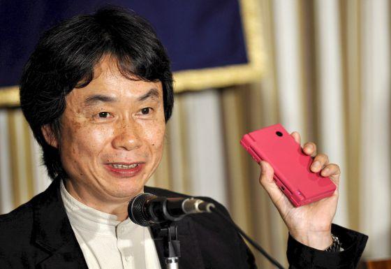 El japonés Shigeru Miyamoto, creador de la saga de videojuegos 'Mario Bros'.