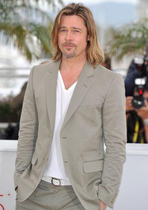 Brad Pitt en Cannes.