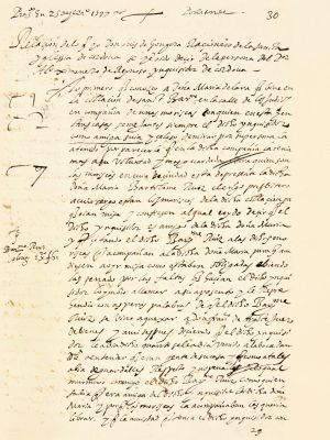 Primera página del manuscrito de Góngora