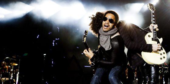 Lenny Kravitz en Rock in Rio Lisboa.