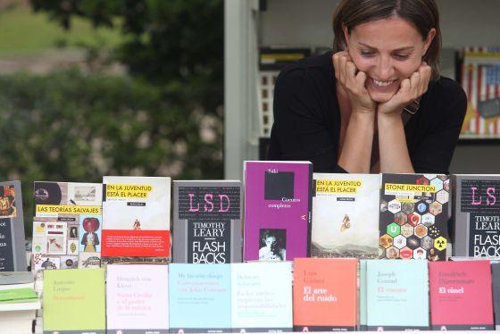 Caseta en la Feria del Libro de Madrid.