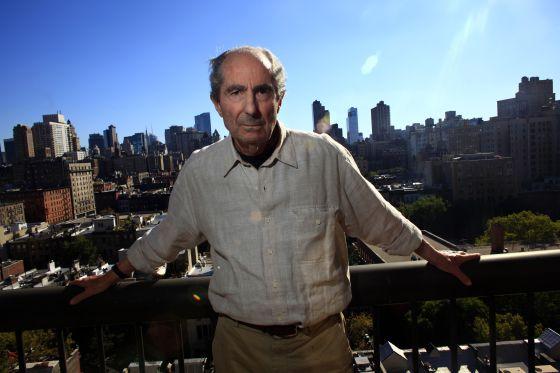 Philip Roth posando en Nueva York en una imagen de Septiembr del 2010.