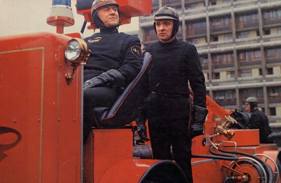 Fotograma de la adaptación de 'Fahrenheit 451'